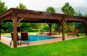If you have the pergola then you can definitely maximize the use of the outdoor space.